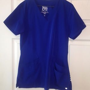 SCRUBS SET. royal blue. Size X-small. Like new.